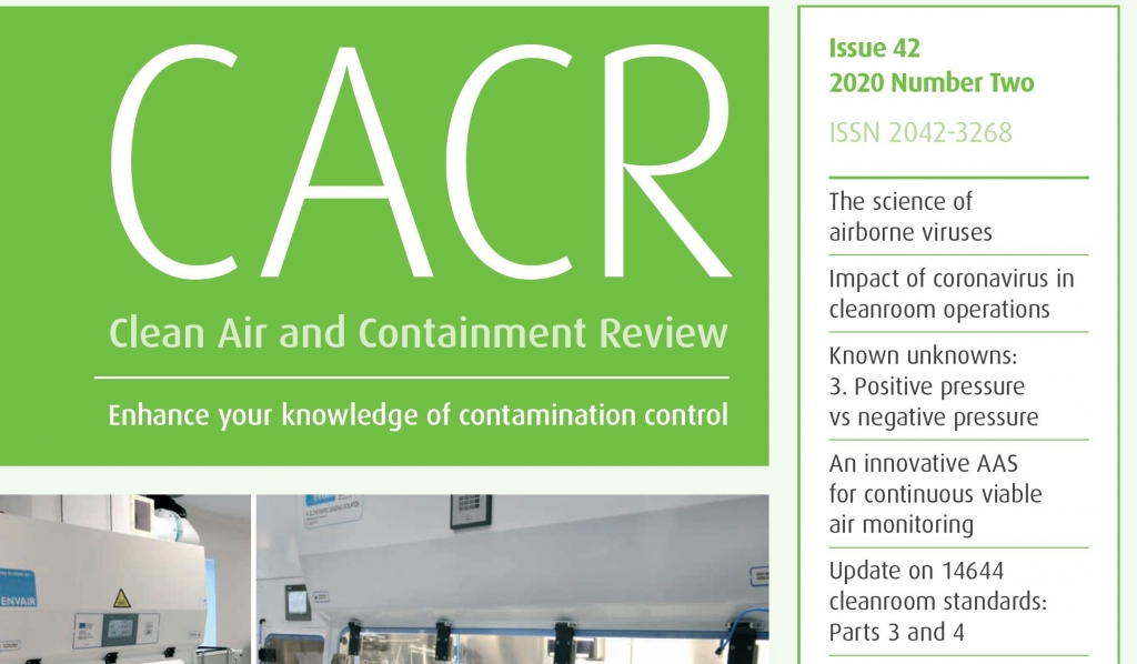 Front cover of CACR magazine
