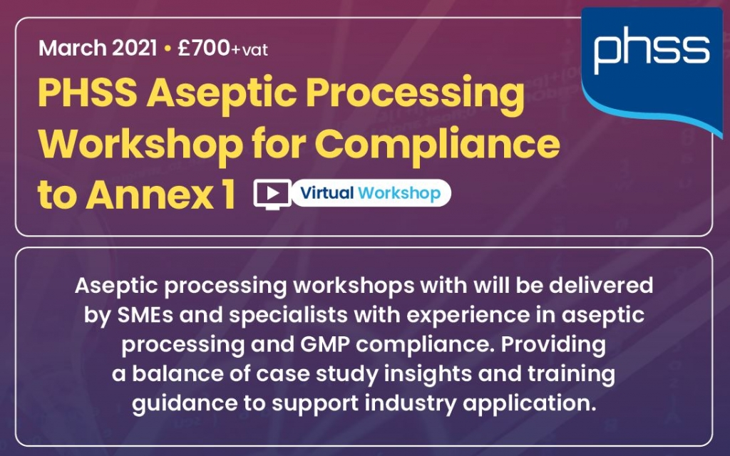 Aseptic processing workshop