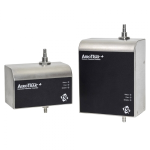 Remote particle counters