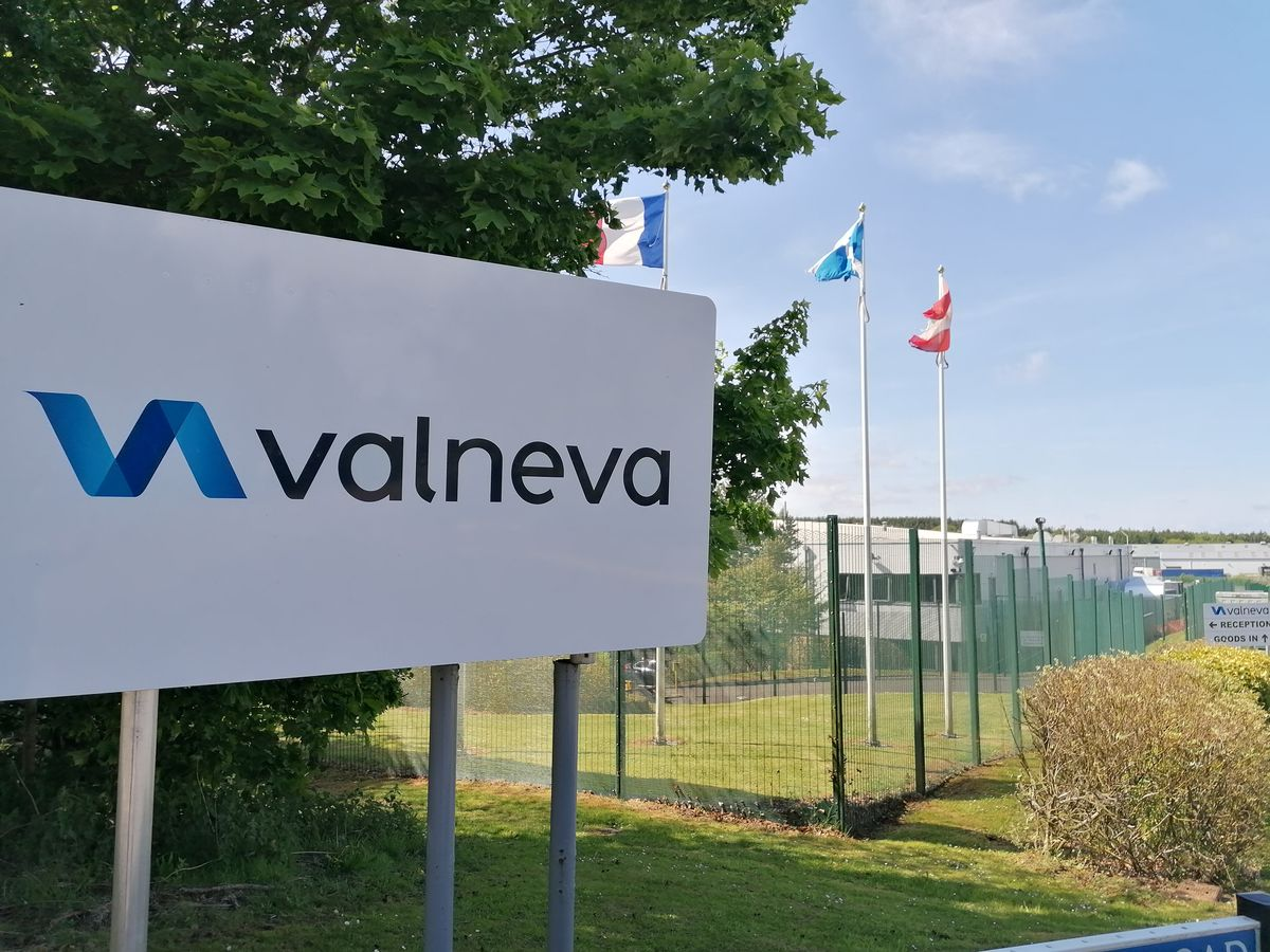 Valneva facility in Livingston, Scotland