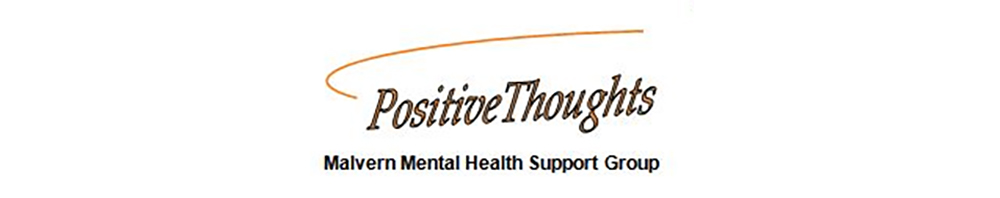 Positive Thoughts logo - mental health charity